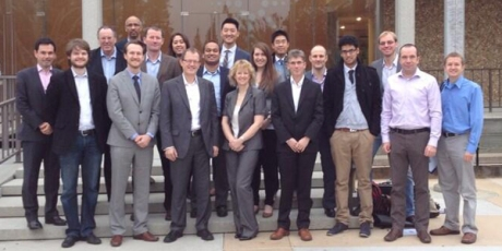 The UK synbio delegation at Agilent Technologies