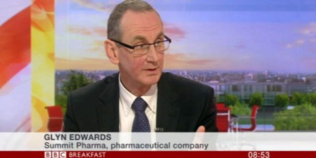 Glyn Edwards on BBC Breakfast