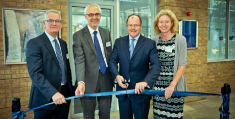Opening of CRUK-MEDI Alliance Laboratory
