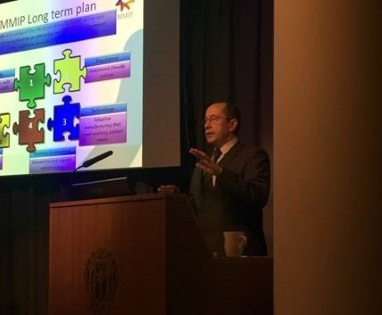 """Ian McCubbin, Chair of MMIP, speaking at the ABPI/MHRA conference, """"Making the case for UK medicines manufacturing"""""""