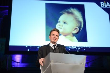Simon Vinnicombe addressing the BIA Gala Dinner
